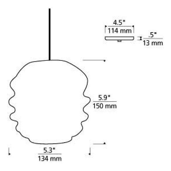 Audra Mini Pendant