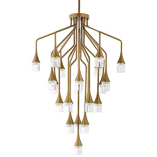 Patrona chandelier by tech lighting at lumens aloadofball Gallery
