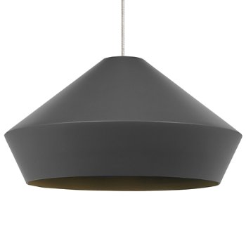 Shown in Charcoal Gray shade, Chrome finish