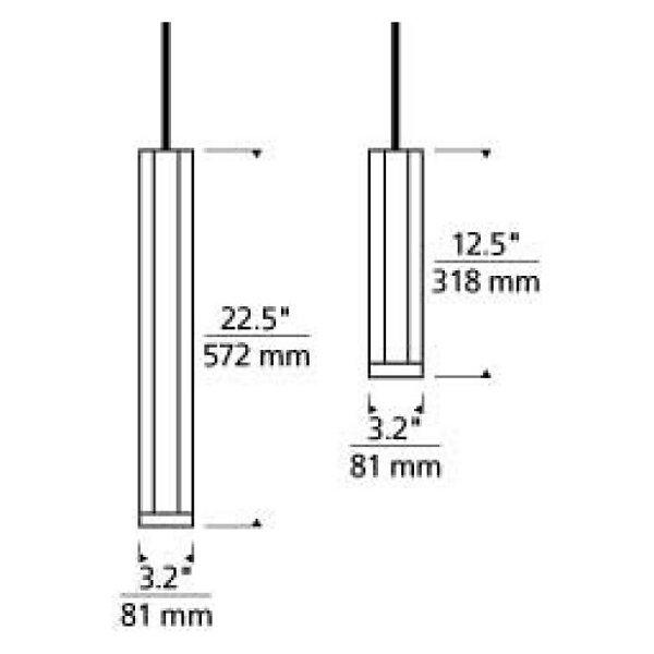 Blok Low Voltage Pendant