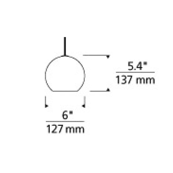 Sedona Low Voltage Mini Pendant