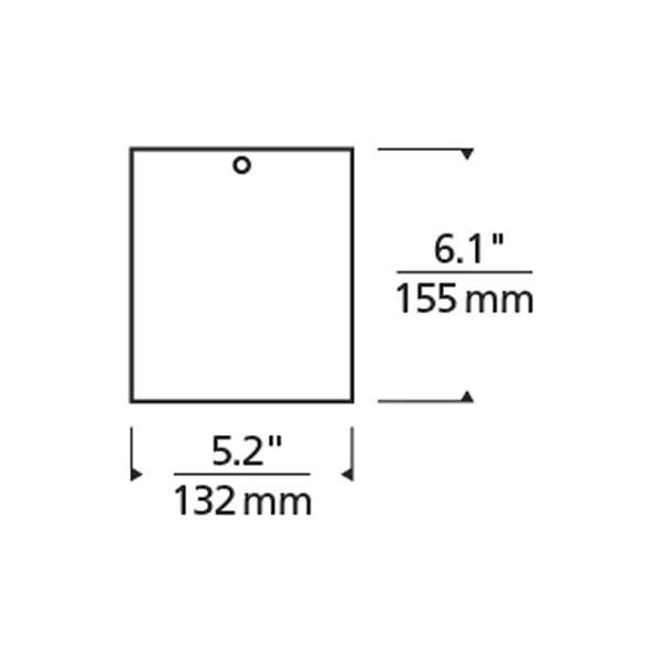 Exo 6 Inch LED Flushmount
