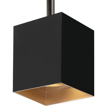 Shown in Matte Black Outer Finish and Gold Haze Inner Finish