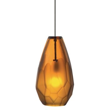Shown in Amber, Antique Bronze finish