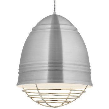 Shown in Brushed Aluminum , Polished Nickel Option