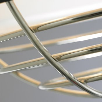 Shown in Polished Nickel Detail