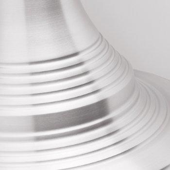 Shown in Aluminum finish