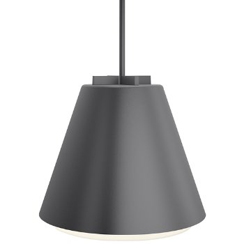 Shown in Charcoal finish, 18 inch size