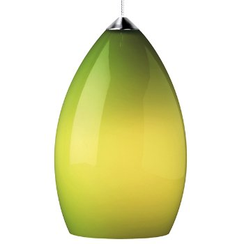 Shown in Chartreuse shade with Chrome finish