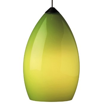 Shown in Chartreuse shade with Antique Bronze finish