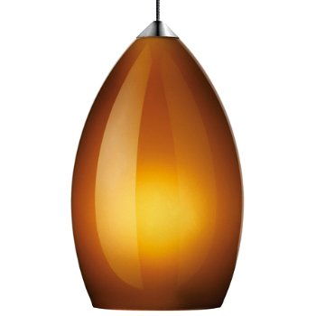 Shown in Amber shade with Chrome finish