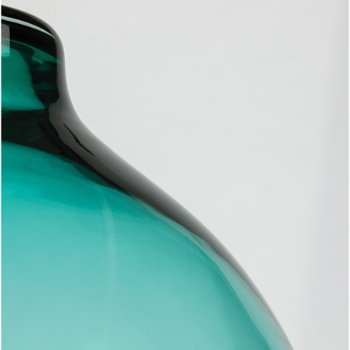 Shown in Surf Green color, Satin Nickel finish, Detail view