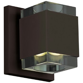 Shown in Smoke shade, Antique Bronze finish