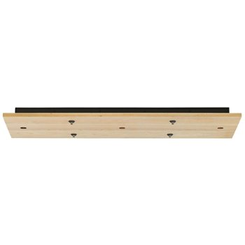 Line-Low Voltage Rectangular Canopy 7-Port