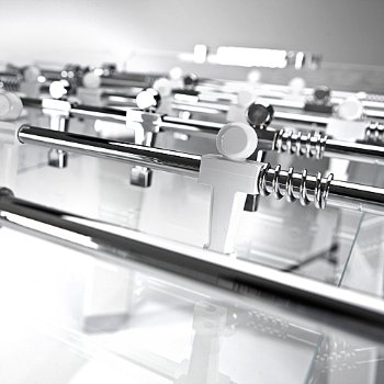 Contropiede Foosball Table, Detail view