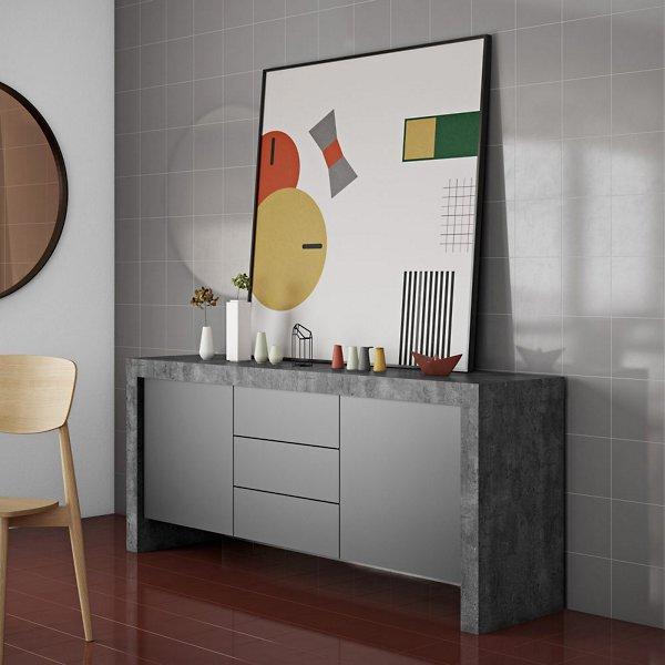 Kobe 2 Doors & 3 Drawers Sideboard