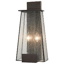 Bistro Dawn 2-Light Outdoor Wall Sconce