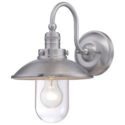 Downtown Edison Domed Wall Sconce (Aluminum)-OPEN BOX RETURN