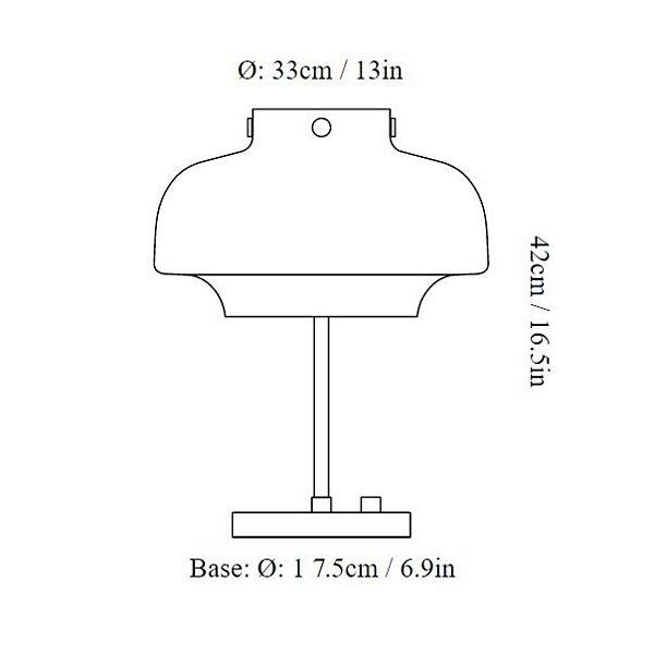 Copenhagen LED Table Lamp