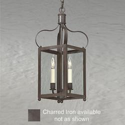 Bradford Entry Light (Small/Charred Iron) - OPEN BOX RETURN