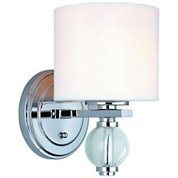 Bentley Model Wall Sconce (Chrome) - OPEN BOX RETURN