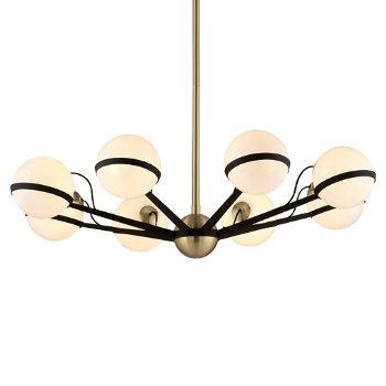 Ace Chandelier (8 Light) - OPEN BOX RETURN