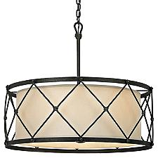 Palisade Drum Pendant Light