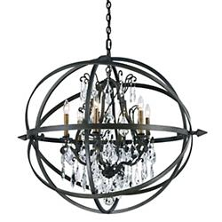 Byron Chandelier (6 Lights) - OPEN BOX RETURN