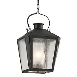 Nantucket Outdoor Pendant (Charred Iron) - OPEN BOX RETURN