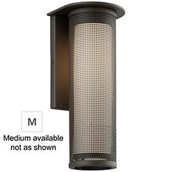 Hive LED Outdoor Wall Sconce (Bronze/Medium/LED) - OPEN BOX