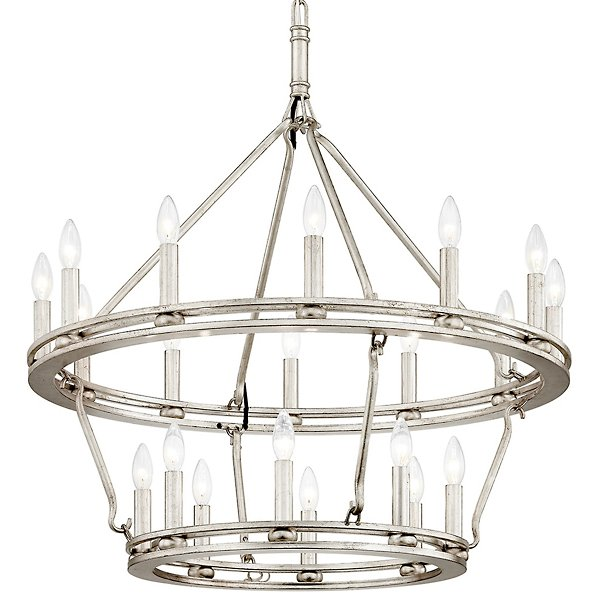 Sutton Tiered Chandelier By Troy