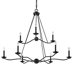 Sawyer 9-Light Chandelier