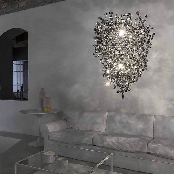 Argent 12-Light LED Chandelier
