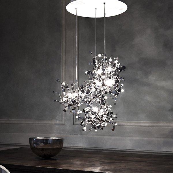 Argent 6-Light LED Chandelier