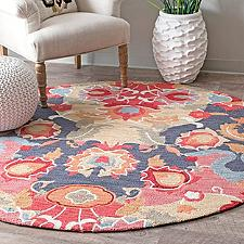 Hand Hooked Felicity Round Rug