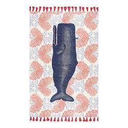 Thomas Paul Whale Flatweave Rug