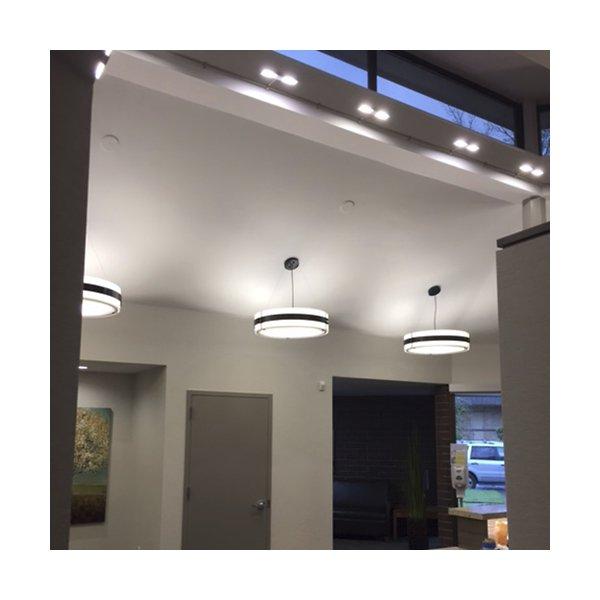 Invicta 16355 24-Inch LED Drum Pendant
