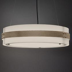 Invicta 16355 48-Inch LED Drum Pendant