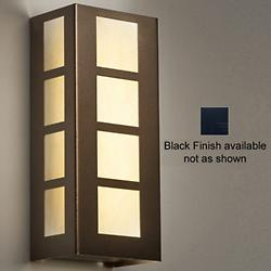Modelli 15332 Outdoor LED Wall Sconce(Opal/Black) - OPEN BOX