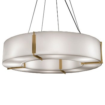 Shown in Chrome finish with Opal shade
