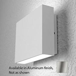 Alume AWL.60 Wall Sconce (Aluminum/2 Lights)-OPEN BOX RETURN