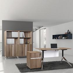 """4 Piece 55"""" Executive Desk Set"""