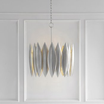 Shown in Burnished Silver finish, Large size, in use