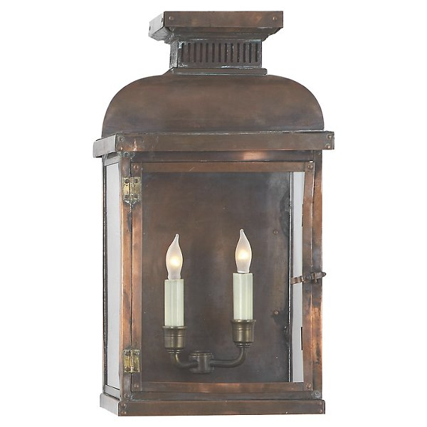 Suffork Wide 3/4 Outdoor Wall Sconce