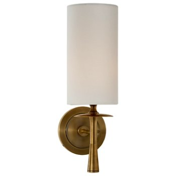 Shown in Hand Rubbed Antique Brass finish, Without Crystal