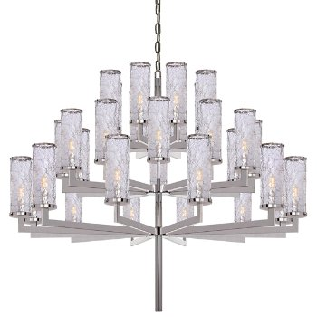 Liaison triple chandelier by visual comfort at for Andy singer visual comfort
