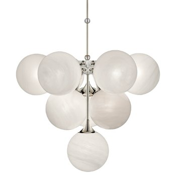 Cristol tiered chandelier by visual comfort at for Andy singer visual comfort