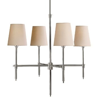Shown in Polished Nickel finish, 26 inch
