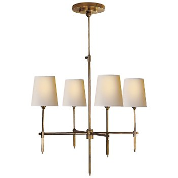 Shown in Hand-Rubbed Antique Brass finish, 26 inch