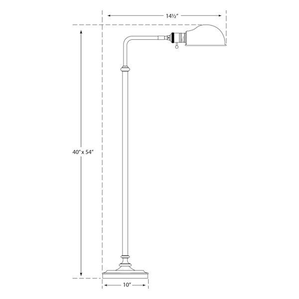 Apothecary Floor Lamp